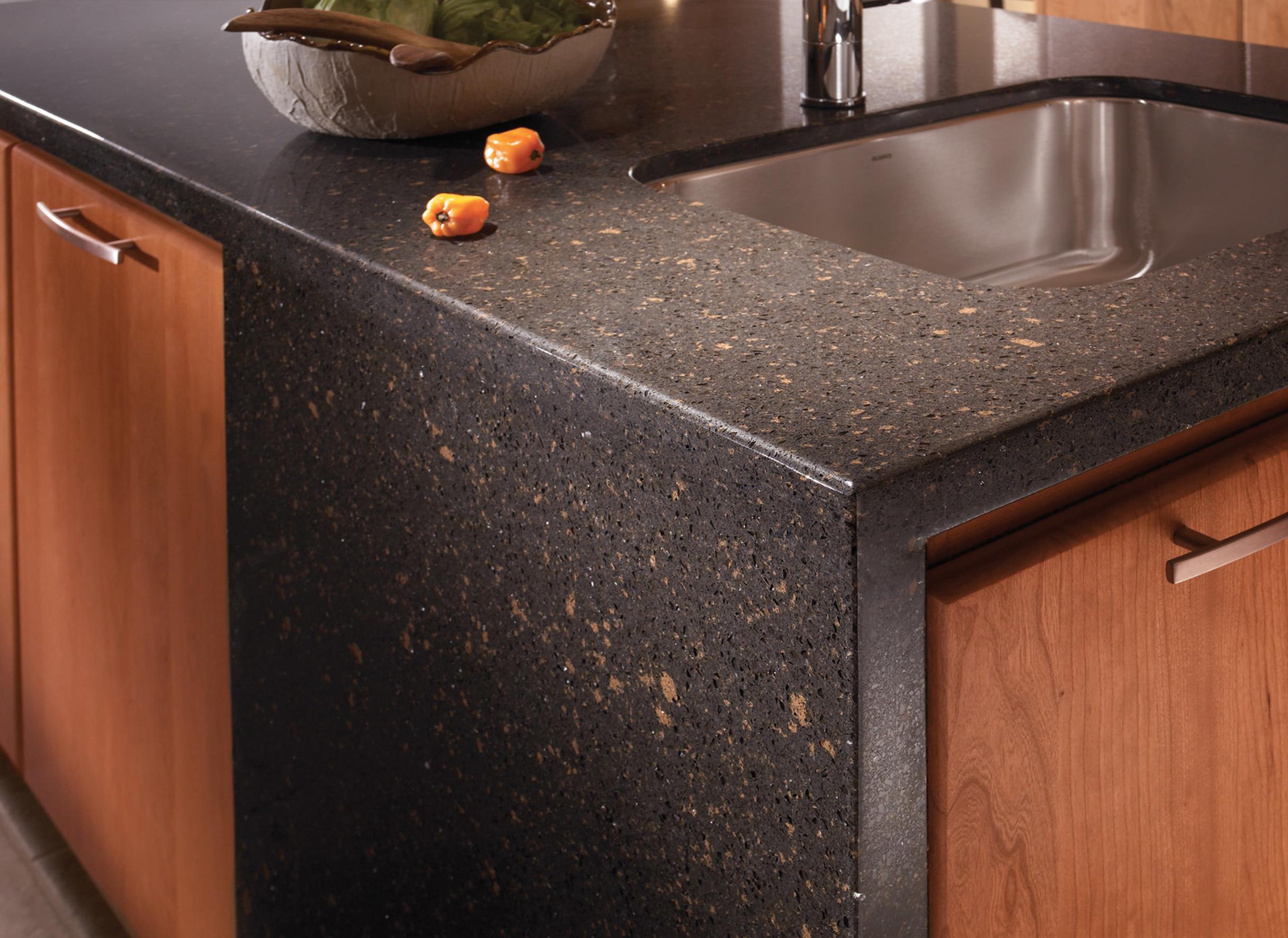 Kitchen Trending Textured Countertops