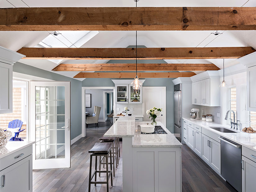 4 Evergreen Design Trends of a Cape Cod Kitchen