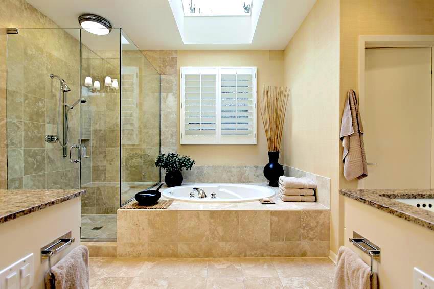 walk in shower vs tub