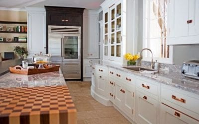 Blush Gold Kitchen Hardware vs. Polished Chrome Kitchen Hardware