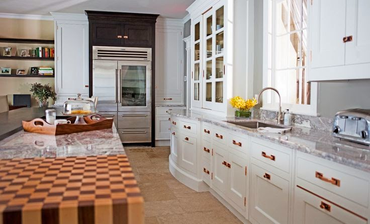 Blush Gold Kitchen Hardware Vs Polished Chrome