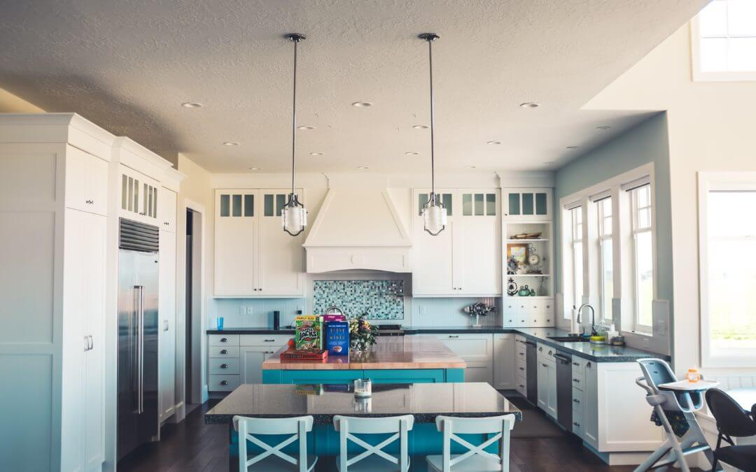 Why Contrasting Kitchen Islands Add a Pop of Color to Your ...
