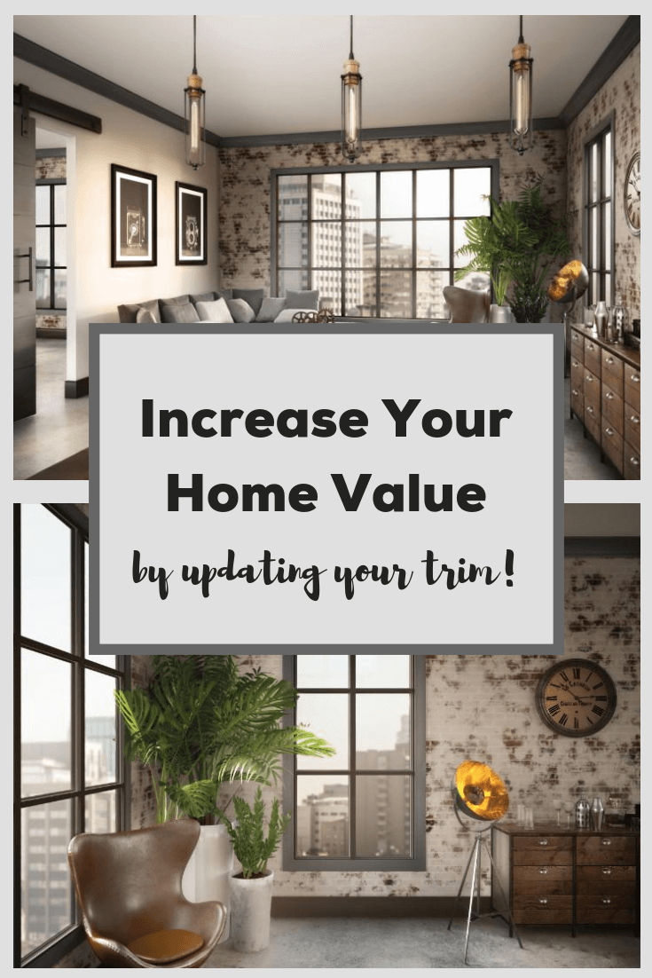increase your home value by updating your trim work