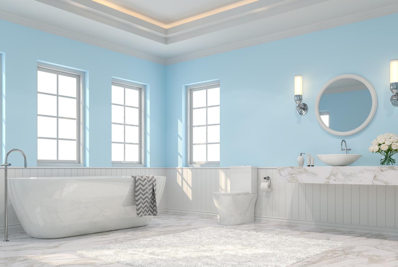 fabulous beach inspired bathroom ideas | Bring the Beach Home: 6 Coastal Themed Bathroom Ideas - NEBS