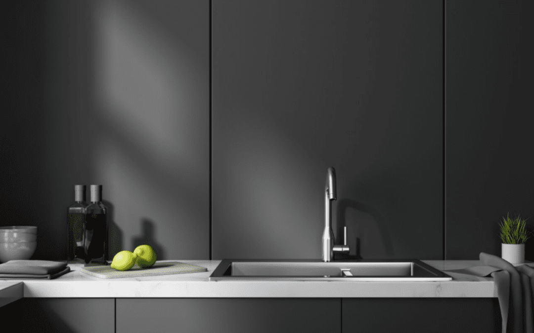 Want In On The Matte Black Kitchen Trend 6 Ideas To Help You Pull It Off Nebs